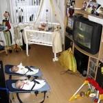 met Eva tv kijken en zelf tv kijken 19-11-2004