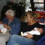 opa en oma busink op bezoek 21-08-2004