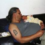 Nancy en papa 24-08-2004