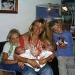 Marike mandemaker en kids 08-09-2004