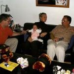 leonie en gijs en wim op bezoek 29-09-2004