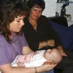 tisserand op bezoek bij de meiden 29-09-2004