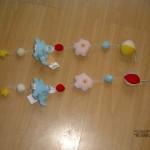 Weer een lading kado's voor Kimberly en Isabella 14-10-2004