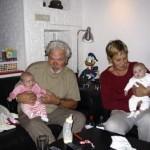 opa en oma op bezoek 19-10-2004