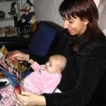 ik lees graag met mijn tante Eva 06-11-2004