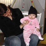 Eva met isabella 13-11-2004