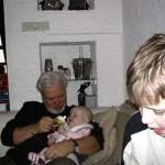 opa en oma busink op bezoek 19-02-2005