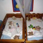 wij slapen niet ongewoon hoor 29-03-2005