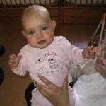 effen met ma kroelen Isabella 09-04-2005