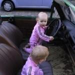 De meisjes in de cabrio Trabant 09-06-2006