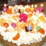 We zijn eindelijk 2 geworden verjaardag kimberly en isabella 11-08-2006