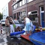 De opbouw van onze zwembaden 0607-2006