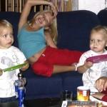 Macha logeren bij kimberly en Isabella 01-10-2006