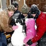 1 Dag sneeuw pret Rozenstraat 08-02-2007