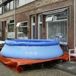 Het zwembad staat al weer 09-06-2007