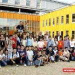 Onze vakantie kinderen Zlatko en Viez zijn aangekomen 30-07-2007