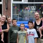 De Familie foto met de vakantie kinderen Zlatko_Viez _ Marko 17-08-2007