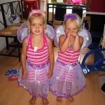 De 3 verjaardag van Kim en Isa met Bosniesche vakantie kinderen 11-08-2007