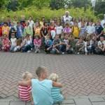 Aaankomst Vakantie kinderen uit Bosnie 28-07-2008