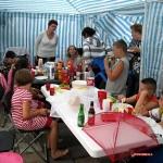Het Ontbijt en en avond eten en feestje bij eva 03-08-2008