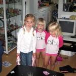 Verjaardag viering van Kimberly en Isabella 4 jaar 09-08-2008