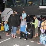 Vertrek van onze 4 vakantie kinderen terug naar Bosnie snifff 15-08-2008
