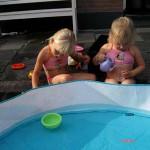 Waaschijnlijk dit jaar voor het laatst in het zwembad 09-09-2008