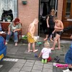Nog effen na genieten van de zomerse dagen in onze buurt 10-09-2008