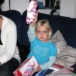 Spaanse dansschoenen van Eva gekregen 03-11-2008