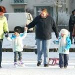 Met de Weizigtschool schaatsen op nassauvijver 09-01-2009