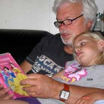 even met Opa en Oma Busink 11-07-2009