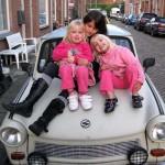 Kosovare en Kimberly _ Isabella op de Trabant 11-08-2009