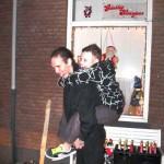 Het Oud en Nieuw feest van de Rozenstraat 31-12-2009