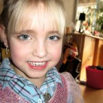 Isabella heeft mooi haar 15-02-2010