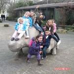 Met weizigtschool naar Blijedorp 16-03-2010