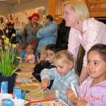 paas ontbijt Weizigtschool klas Isabella _Kimberly is ziek_01-04-2010