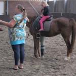 Paard rijden en BBQ bij j familie van Leeuwen 31-07-2010