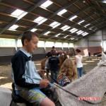 Filmpjes paard rijden en BBQ bij j familie van Leeuwen 31-07-2010