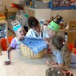 Verjaardag op school Dukkie 12-07-2008