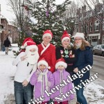 Kerstboom foto's buurt kinderen 18-12-2010