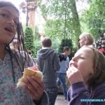 Onze EKH vakantie kinderen 2011 Demi en Lawinda 29-07-2011