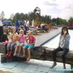 Onze EKH vakantie kinderen 2011 Demi en Lawinda 31-07-2011
