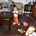op bezoek bij oma 07-08-2005