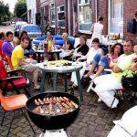 Rozenstraat BBQ 18-08-2005