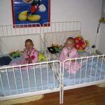 we slapen lekker in onze nieuwe bedjes 21-10-2005