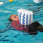 Afzwemmen voor junior 2 Isabella