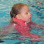 Afzwemmen voor C Kimberly