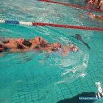 Eerste wedstrijd zwemmen