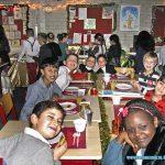 Kerstdiner op school Isabella